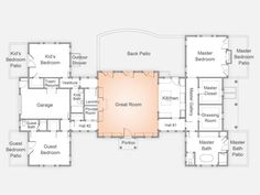 HGTVRemodels.com shares the floor plan and renderings for the Cape-Cod-style HGTV Dream Home 2015.