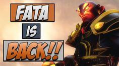 Dota 2 Gameplay: Fata's Ember Spirit - He's back