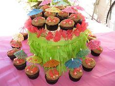 flip flop cupcakes