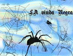 """La viuda Negra"" Pinceles: GIMP Brush#64 Cobwebs_24 Cobwebs_25 Cobwebs_27 Cobwebs_3 Cobwebs_2 Cobwebs_11 Fuentes Respective 2.0, ShadowedGermanica Tamaño 1024X786"