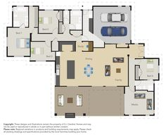The great floor plan of this Tauranga G.J. Gardner Showhome! Would you love to live here?