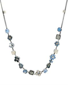 Ожерелье Pilgrim Skanderborg, Denmark с кристаллами
