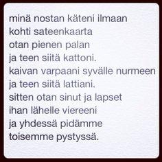 päivän runo 3.5.2014