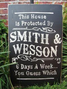 Smith & Wesson    http://pinterest.com/laurenlrich/bourbon-boots-christmas-is-on-us/