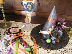 halloween center pieces