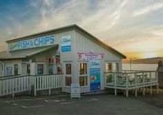 Frankie's Fish & Chips in Brae, Shetland has been named the best in Scotland (second in Britain) Fish And Chip Shop, Scotland Travel, Highlands Scotland, England Ireland, Scottish Islands, Fish Shapes, Yellow Painting, Fish And Chips, London Calling