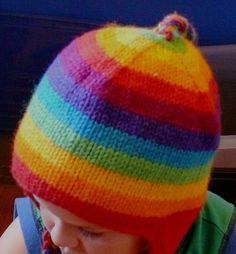 rainbow hat from melbee 16's photostream via Flickr
