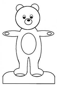 Printable Paper Dolls And Clothes Teddy Bear