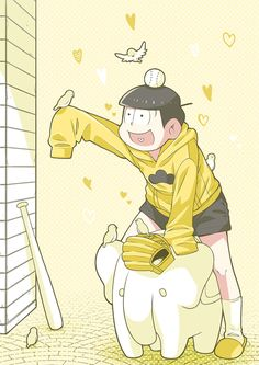おそ松さん Osomatsu-san 十四松「YELLOW」/「うさぽんぬ」のイラスト [pixiv]