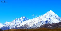 #Chandrabhaga peak - This peak lies in the C. B. Range in the central Lahaul massif. The name of the range comes from the two Rivers Chandra and Bagha which mark the border of the massif. While climbing up this peak you have to walk on the huge Dhaka glacier, which is the biggest glacier in Lahaul Valley. From top of the peak you have a great view of the Kunzum Range, the magnificent Chandratal Lake and the Chandra River.  #travel #Himalayas #HimachalPradesh #India #travelIndia