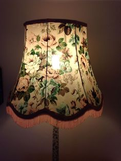 The 84 best vintage lampshades images on pinterest vintage antique retro vintage shabby chic chintz floral standard lamp shade lampshade aloadofball Choice Image