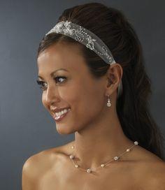 Wedding Hairstyle with headband