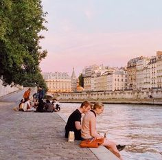 The banks of the Seine The Places Youll Go, Places To See, Paris 3, Paris France, European Summer, Travel Aesthetic, Adventure Is Out There, Beautiful Places, Scenery