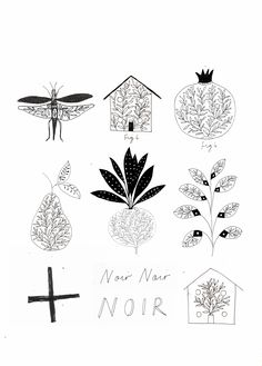 Noir. Ryn + Tor illustration.