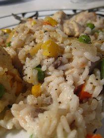 The Baking Bluenoser: Rice and Chicken Casserole