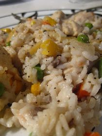 The Baking Bluenoser: Rice and Chicken Casserole