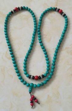 Mala bracelet #turquoise tibet tibetan #buddhist #buddha worry prayer bead bracel,  View more on the LINK: http://www.zeppy.io/product/gb/2/322380070319/