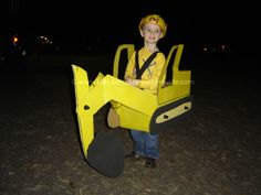 3 different instructions on how to make a front end loader