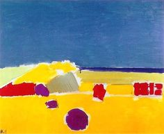 Nicolas de Staël -The beach in Agrigento, 1954