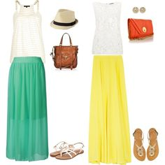 """""""Keeping it maxi fresh"""" by sarafina27 on Polyvore"""