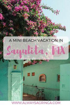 Beach Vacation in Sayulita, Nayarit, Mexico_Pin