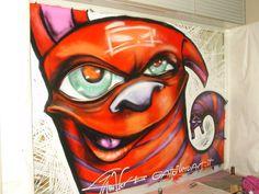 Graffito di Gattonero, Lecco