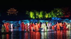 Impression West Lake, a magnificent live-action performance in Hangzhou. The traditional Chinese culture will indulge you in artistic enjoyment.