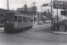 Last day of Street Cars in Cheviot - April 28, 1951. My family moved there in 1954.