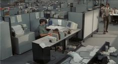 office cubicles at night - Google Search