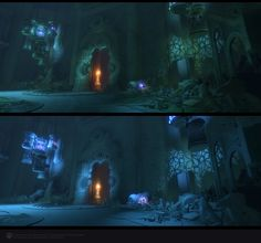 Skyforge environment - Ruins 2 Lighting, Liubov Sokolina on ArtStation at https://www.artstation.com/artwork/Dme89