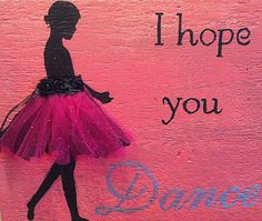 Wood home decor pink and black sign little girl.  Love this for the girls too.