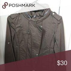 Express jacket Great condition ! Express Jackets & Coats Utility Jackets
