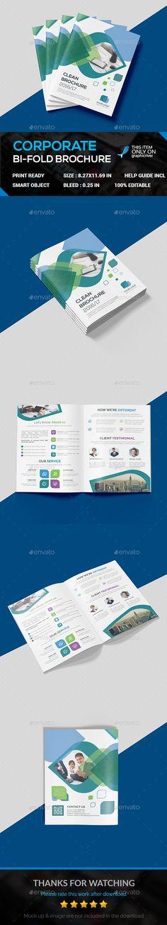 451 Best Bi Fold Brochure Designs Images On Pinterest Brochures