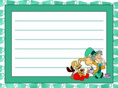 Journal Card - Wonderland - Hatter Style - tea party - lines - 4x3 photo: A little 3x4inch journal card to brighten up your holiday scrapbook! Click on options - download to get the full size image (1200x900px).  Inspired by Disney's Alice in Wonderland. Clipart belongs to Disney. Cups from www.clker.com ~~~~~~~~~~~~~~~~~~~~~~~~~~~~~~~~~ This card is **Personal use only - NOT for sale/resale/profit** If you wish to use this on a blog/webpage please include credits AND link back to here. ...