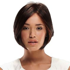 Nita -   SMARTLACE COLLECTION by Jon Renau   Nita is a modern twist on the classic bob. This wig includes wispy layers throughout that allow for ultimate movement and style, along with our SmartLace technology which offers the most natural hairline available. No tape or glue needed!