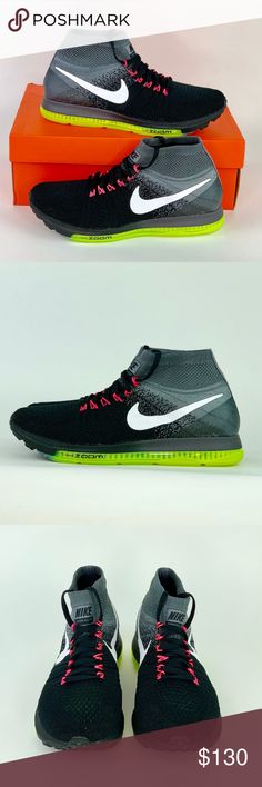 9be79893612bc Nike Zoom All Out Flyknit Running Shoe Sz 8.5 Brand New Nike Zoom All Out  Flyknit