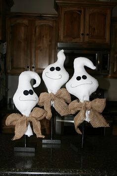 diy Too Cute To Spook Ghosts w/Instructions