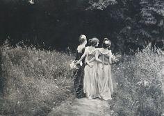 Au Jardin Fleuri ,1899 by Constant Puyo