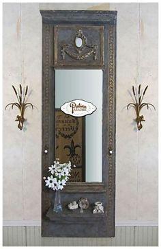 diy trumeau mirror, crafts, wall decor
