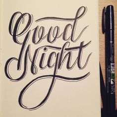 Daily handlettering by John Somers