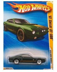 Hot Wheels '67 Shelby GT-500 #01/44, 2010 New Models. 1:64 Scale. by Mattel. $14.95. Ages 3 and Up. 1:64 Scale Die Cast