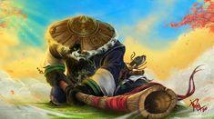 Pandaren-Mist of Pandaria by mashachruah