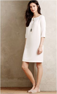 e6a4585e9da0 This Ottod  Ame textured shift dress is a modern
