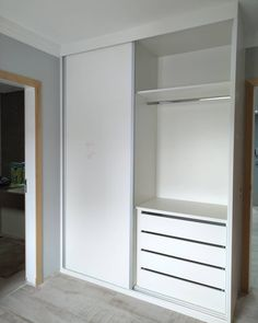 Wardrobe Cabinet Bedroom, Bedroom Tv Wall, Grey Bedroom Decor, Wardrobe Room, Bedroom Cupboard Designs, Wardrobe Furniture, Home Decor Furniture, Wardrobe Interior Design, Bedroom Closet Design