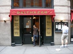 Balthazar is one of my favorite restaurants in the city.  If you ever go don't miss the goat cheese and onion tart.