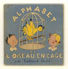 Alphabet de l'oiseau en cage