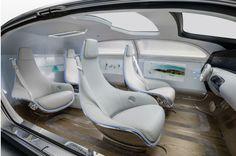 CES 2015 : la Mercedes autonome F015, la réponse de Daimler à Google