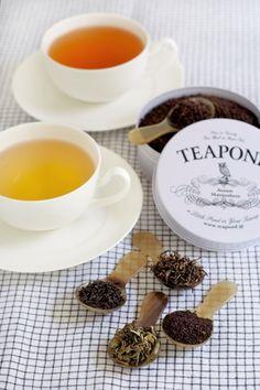 気分にあわせて選びましょ!小さなお茶の専門店「TEAPOND」の世界
