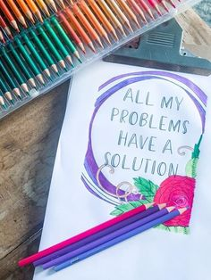 Coloring pages can not only help to relax and calm you down they can also help you to meditate on and form new beliefs... {READ MORE} #coloringpages #affirmations #adultcoloringpages #affirmationcoloringpages #instantdownloads