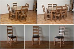 Scaune din lemn masiv Bar, Restaurant, Rugs, Table, Furniture, Home Decor, Farmhouse Rugs, Decoration Home, Room Decor